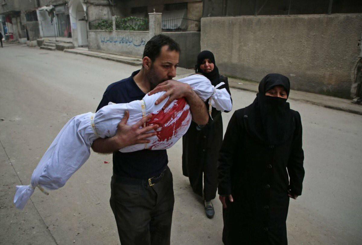 صورة تكلفة الصمت الدولي..50 ألف نازح في الغوطة