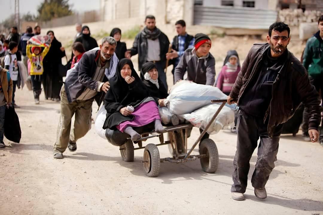 صورة يونيسف مستعدة لمساعدة 50 ألفا يغادرون الغوطة