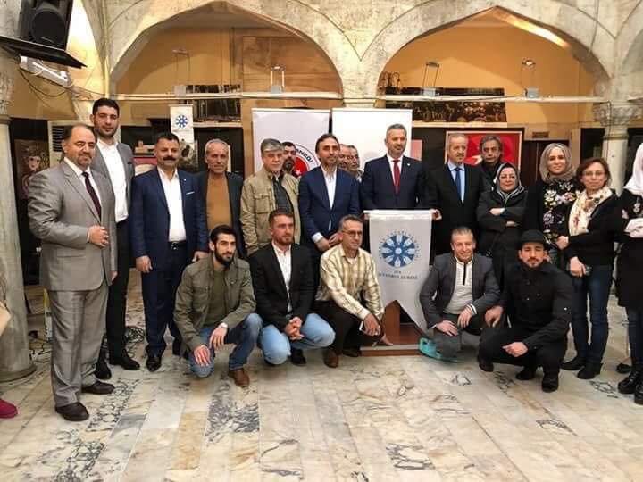 صورة فنانون سوريون يقيمون أول معارضهم في إسطنبول