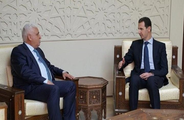"""صورة """"العبادي"""" يؤازر """"بشار الأسد"""""""