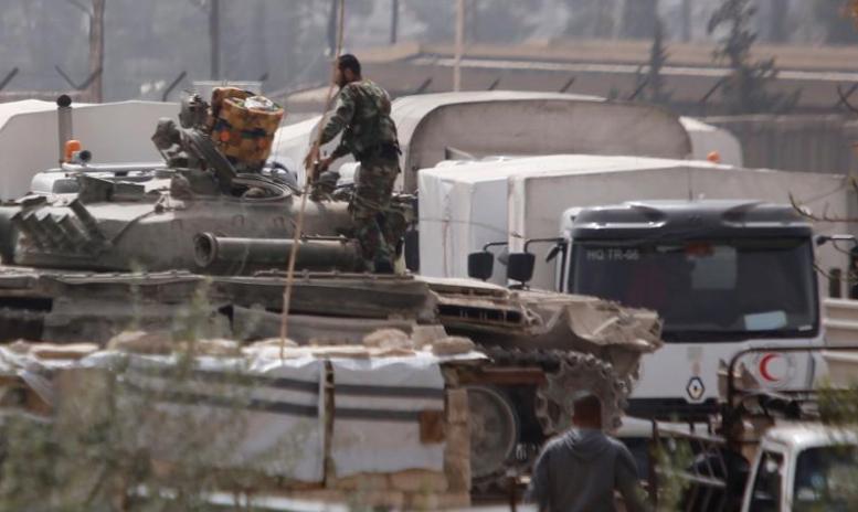 صورة الغوطة..قتل مستمر ومساعدات منتهية الصلاحية