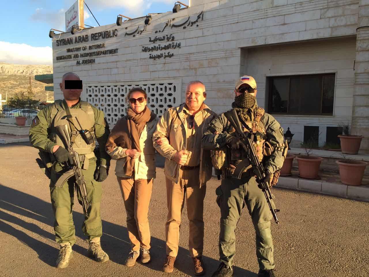 صورة نذر مواجهة أمريكية روسية بدير الزور