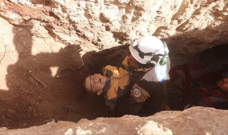 صورة مجازر تلاحق السوريين في الملاجئ