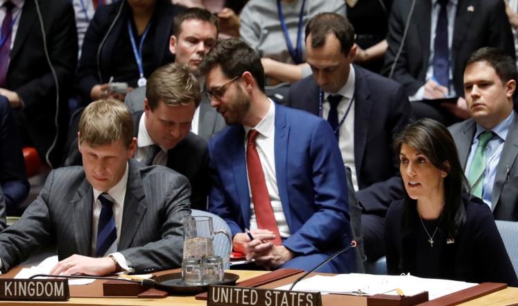 صورة أميركا تدعم بريطانيا في المواجهة مع روسيا