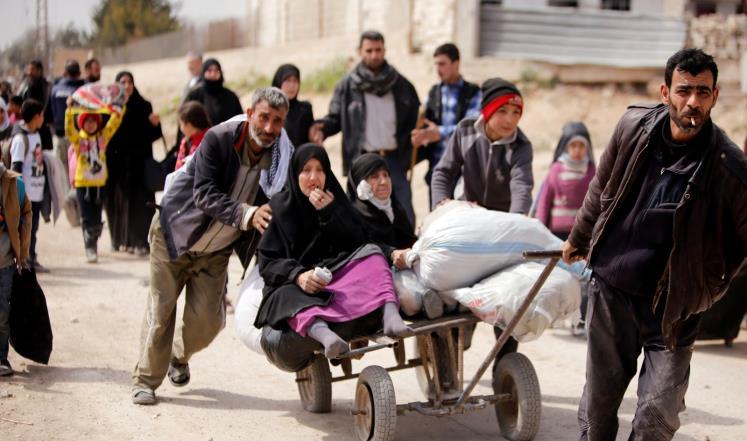 صورة الغوطة..حرب إبادة..تشريد وحصار