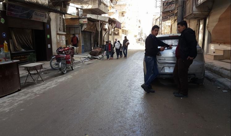 صورة غوطة دمشق بين جحيمين