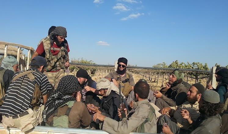 صورة تنظيم الدولة ينهزم والحرب عليه تشتعل