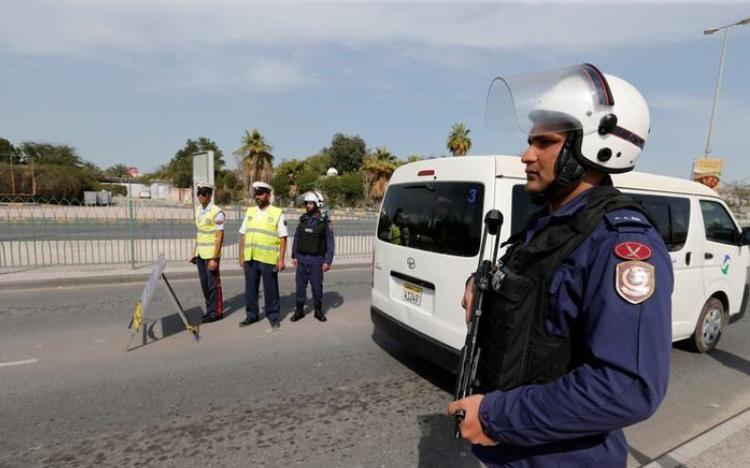 صورة ضبط شبكة مسلحة للحرس الثوري الإيراني في البحرين