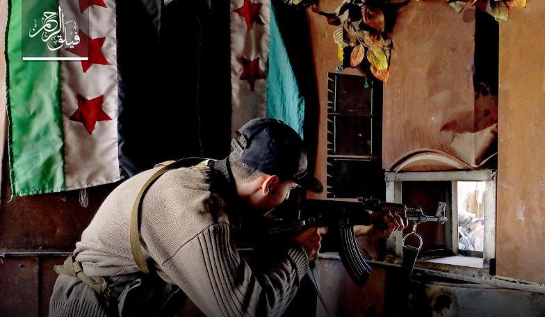 صورة هجوم معاكس ناجح للمعارضة في الغوطة