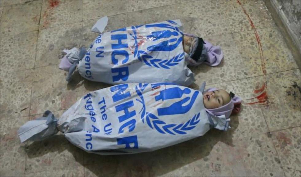 صورة الأمم المتحدة ساهمت بتجويع السوريين وقتلهم (دراسة)
