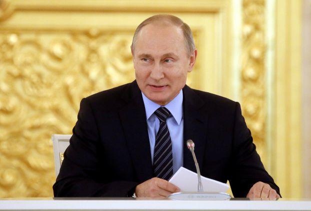 صورة انتخاب بوتين لولاية رابعة بـ 73,9%