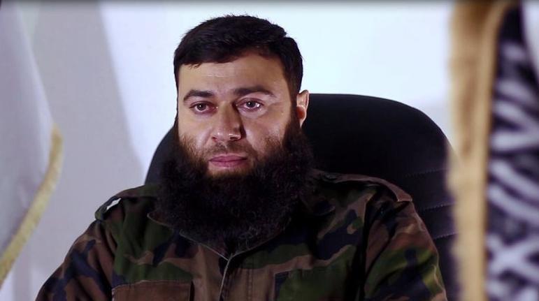 صورة قائد جيش الإسلام يوجِّه رسالة لفصائل درعا
