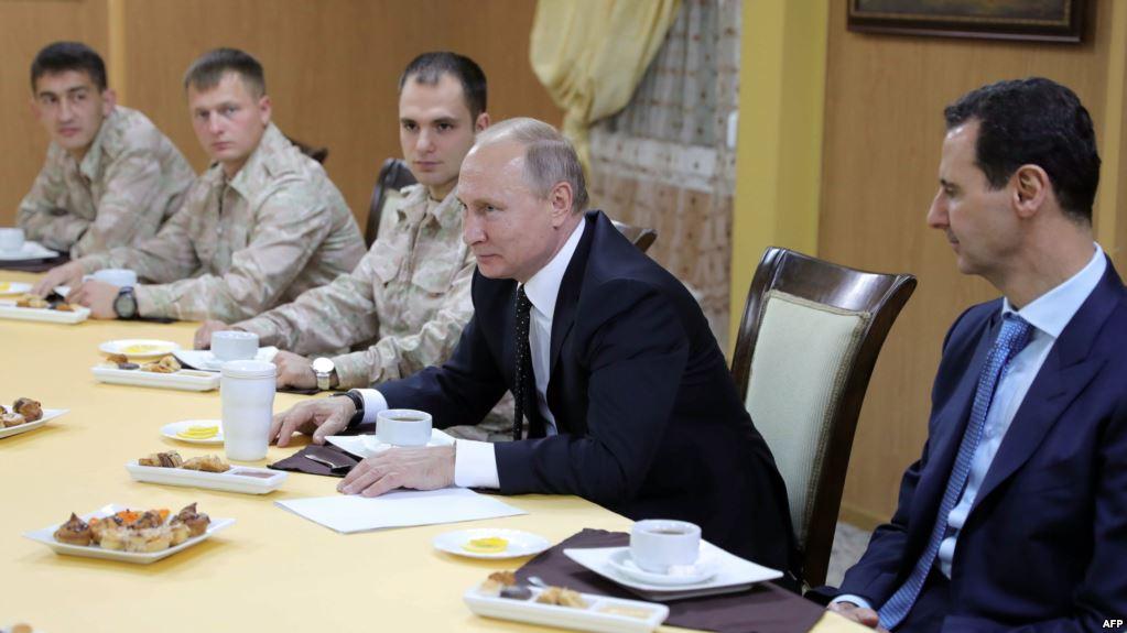 صورة كم أنفقت روسيا لمنع سقوط الأسد؟