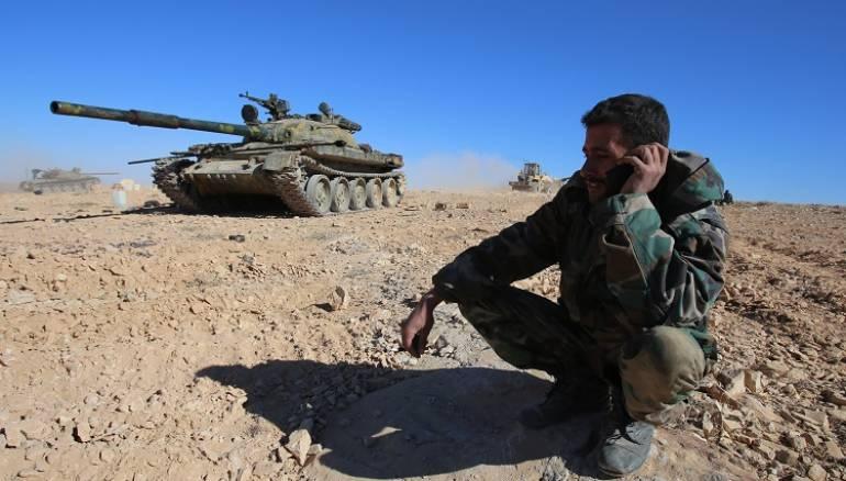 صورة سوريا..التحالف الدولي يستهدف ميليشيات إيرانية
