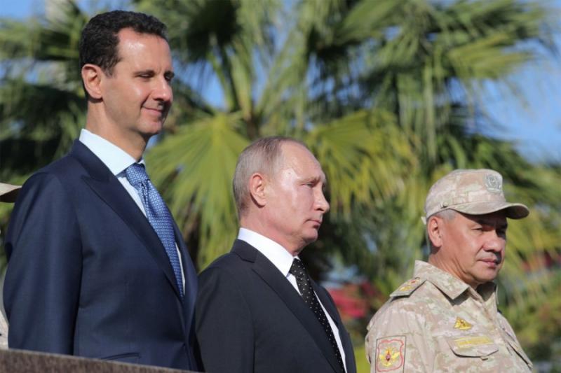 صورة واشنطن بوست: ترامب وقف مع روسيا والأسد ضد السوريين