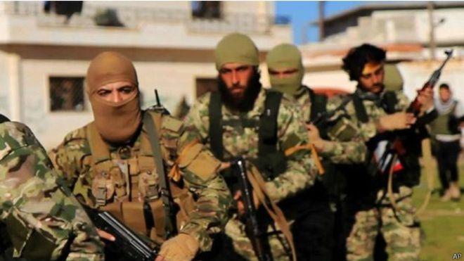 """صورة """"تحرير الشام"""" تعلن سيطرتها على بلدات شمال إدلب"""