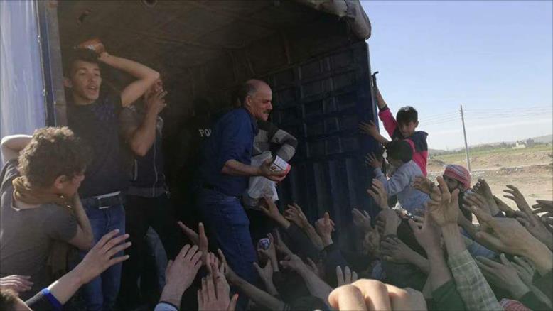 صورة دمشق سجن كبير لمهجري الغوطة