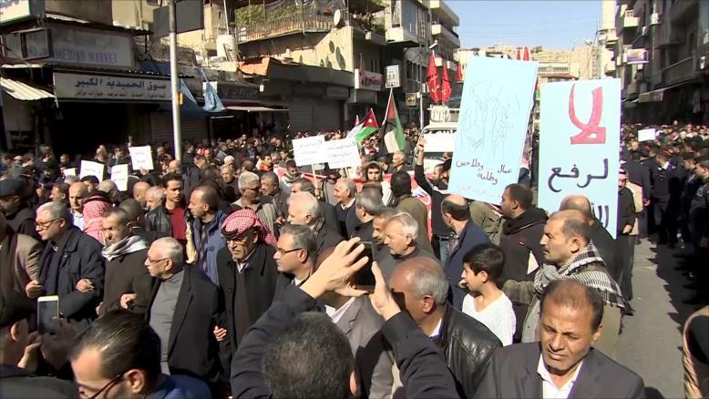 صورة الأردن.. نار الغلاء تلفح المقيمين واللاجئين معا