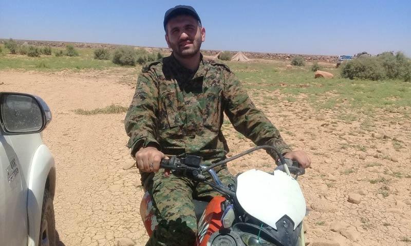 صورة مقتل مسؤول هندسة حزب الله جنوبي سوريا