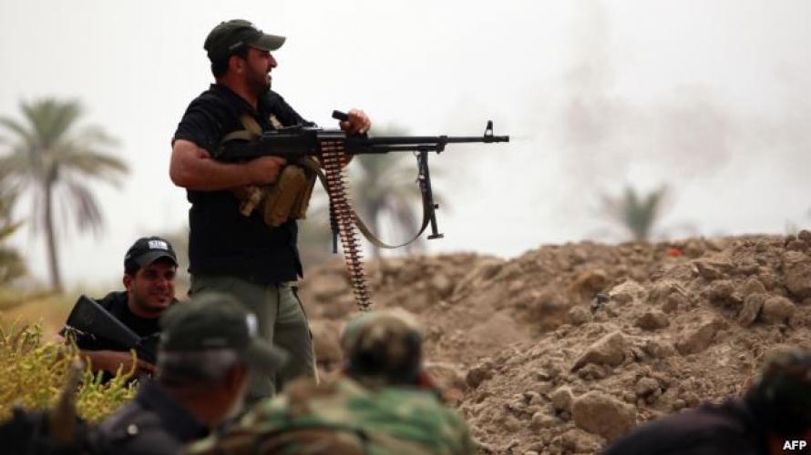 """صورة مقتل 5 لـ""""الحشد الشعبي"""" بكمين لـ""""داعش"""" بكركوك"""