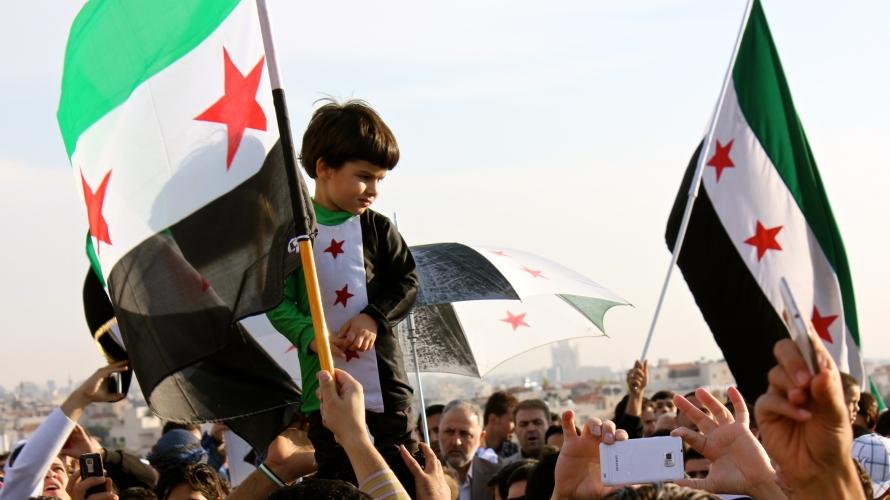 صورة رسالة من ثائر سوري إلى أحرار العالم