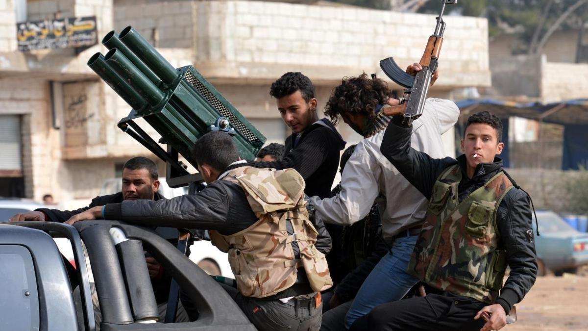 """صورة القبض على عصابة خطف في """"داعل"""" بدرعا"""