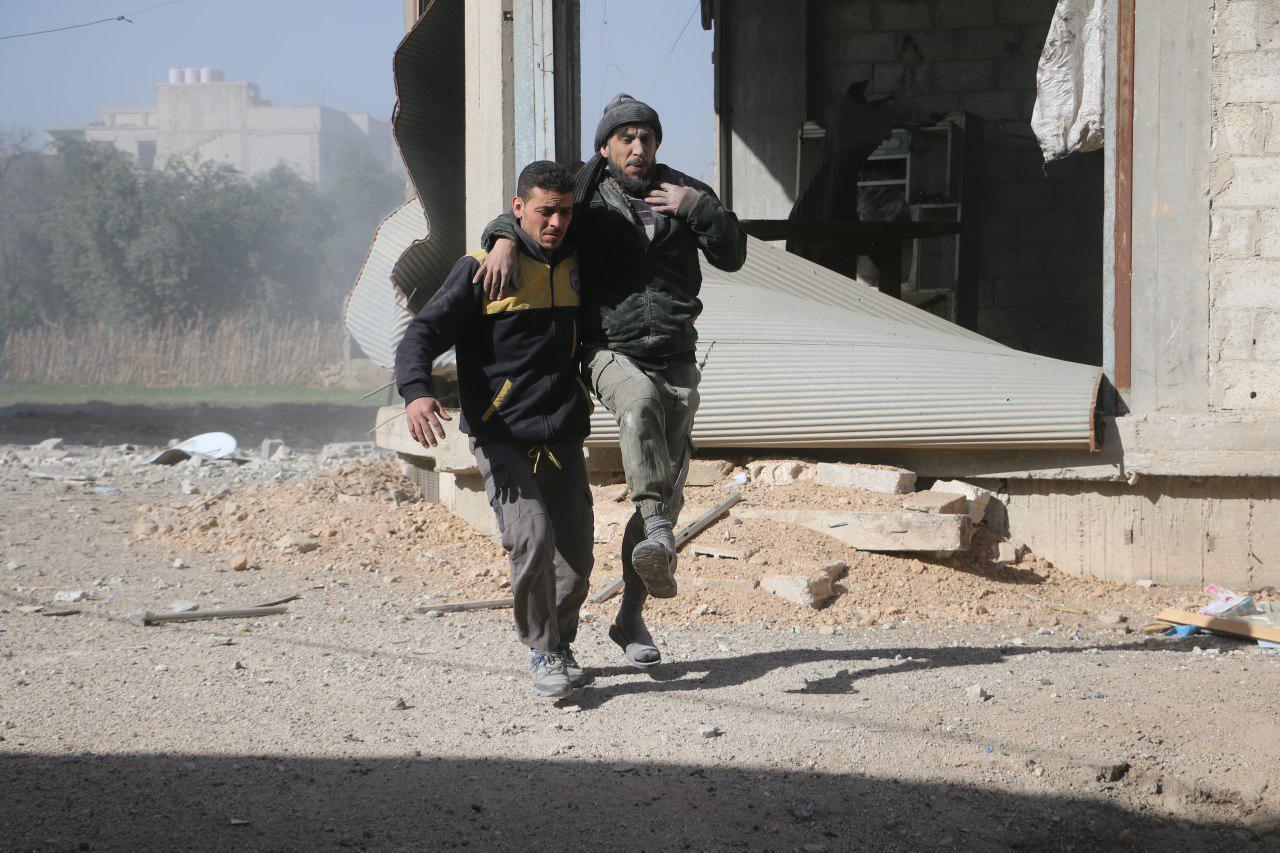 صورة خلال 24 يوما..مقتل 412 مدنياً في دوما