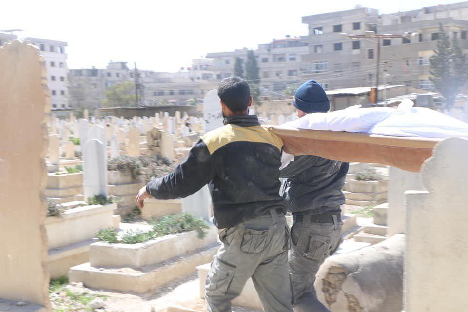 صورة الغوطة..أسلحة محرمة ولا قبور للضحايا