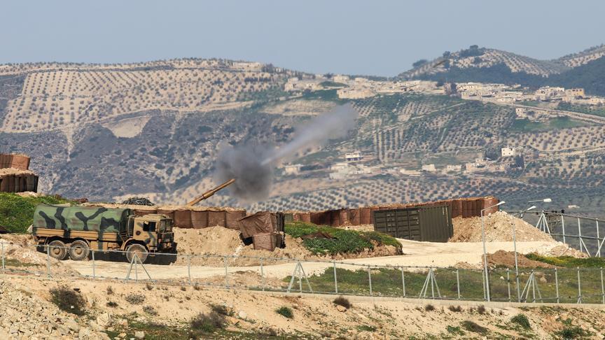 صورة عفرين..التركي والحر يسيطران على ناحية و4 قرى