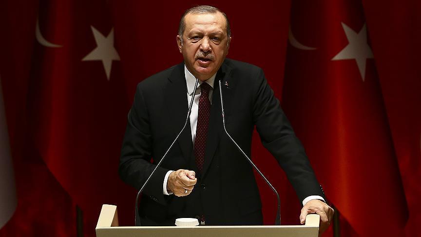 صورة أردوغان استضافة فرنسا للوحدات الكردية عداء لتركيا