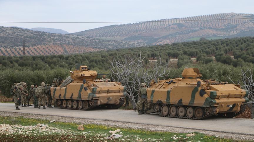 صورة الجيشان التركي والسوري الحر يتقدمان لمناطق جديدة بعفرين