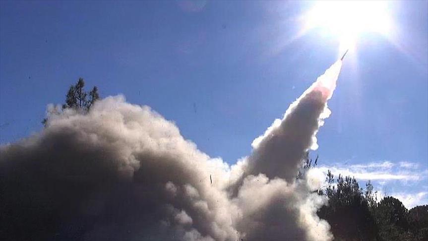صورة اعتراض ثامن صاروخ باليستي في السعودية خلال 4 أيام
