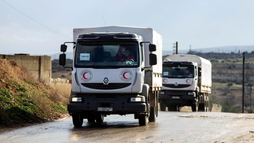 صورة متحدث أممي: النظام استهدف قافلة مساعداتنا الإنسانية في الغوطة