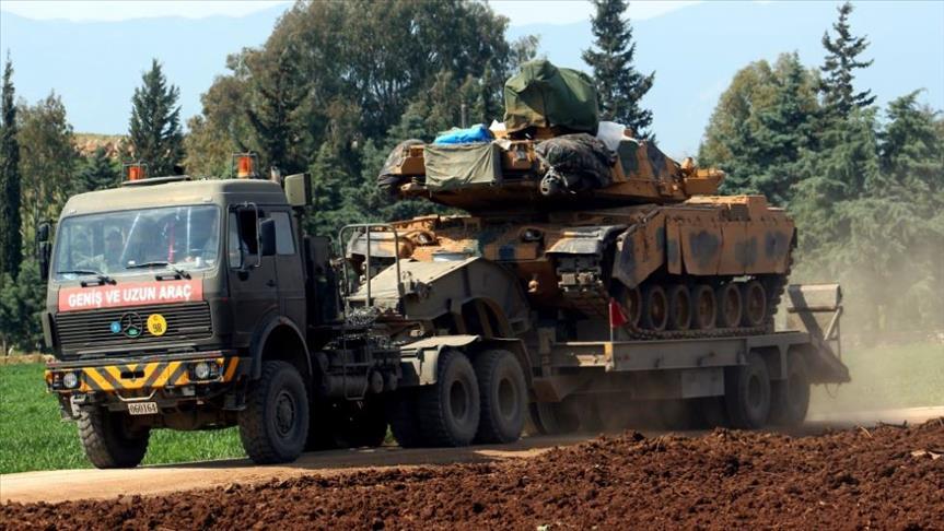 """صورة تعزيزات عسكرية تركية جديدة إلى """"عفرين"""""""