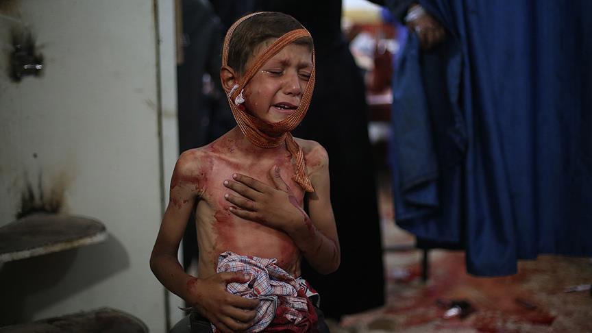 صورة منظمات بالغوطة تطالب بممر آمن لخروج المدنيين