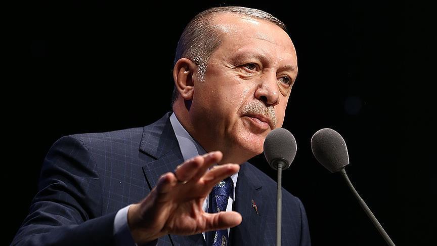 صورة أردوغان: لو تخلينا عن أخلاقنا لسيطرنا على عفرين بثلاثة أيام