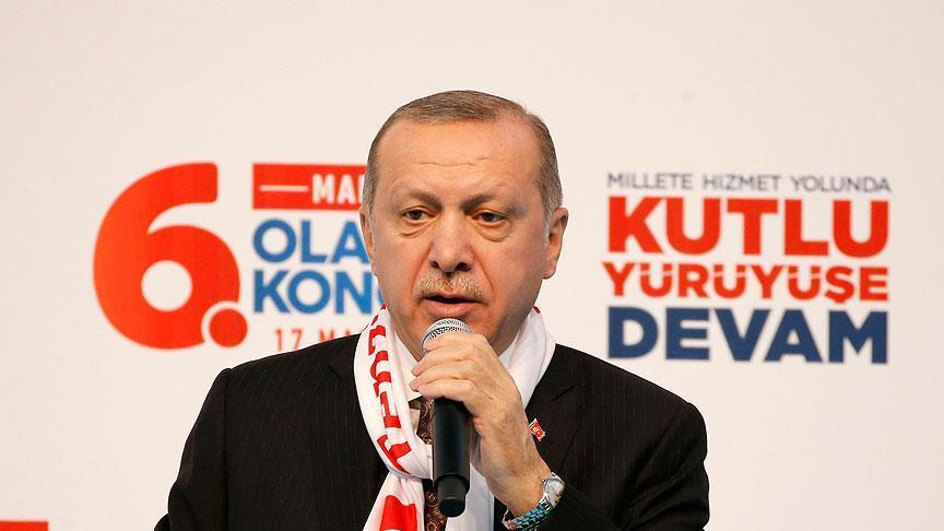 """صورة أردوغان لـ""""ترامب وبوتين"""": لن تتراجع عن خطواتنا بسوريا"""