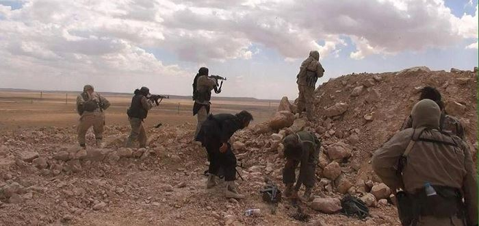 صورة دير الزور..تنظيم الدولة يطحن بعضه