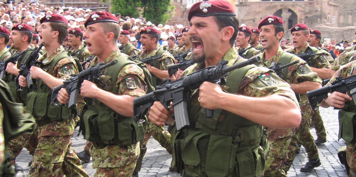 صورة إيطاليا ترفض المشاركة بضرب مواقع الأسد