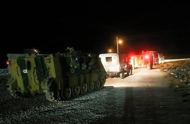 صورة نقطتا مراقبة تركية وسط سوريا
