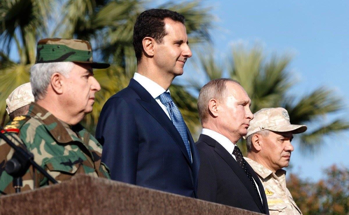 صورة روسيا: أمريكا تريد الإطاحة بالأسد وتحجيمنا