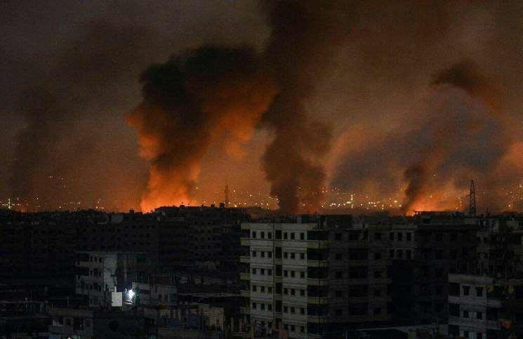 صورة مصدر: 37 قتيل للأسد وإيران بانفجارات حماة