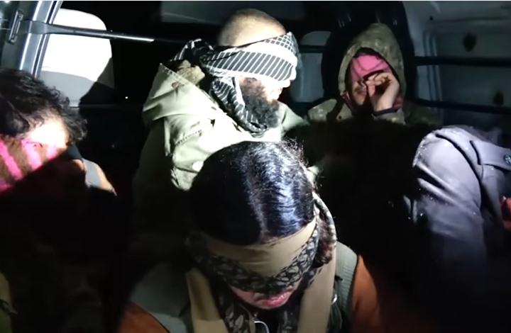 """صورة تبادل أسرى بين تحريري """"الشام وسوريا"""""""
