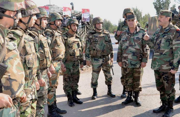 صورة هروب جماعي لقيادات الأسد..وحميميم تؤكد