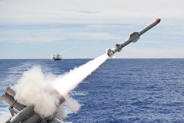 صورة صواريخ كروز أمريكية تستهدف النظام السوري