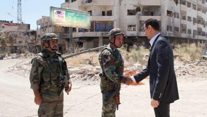 صورة التايمز: الأسد يصادر أملاك ملايين المهجرين