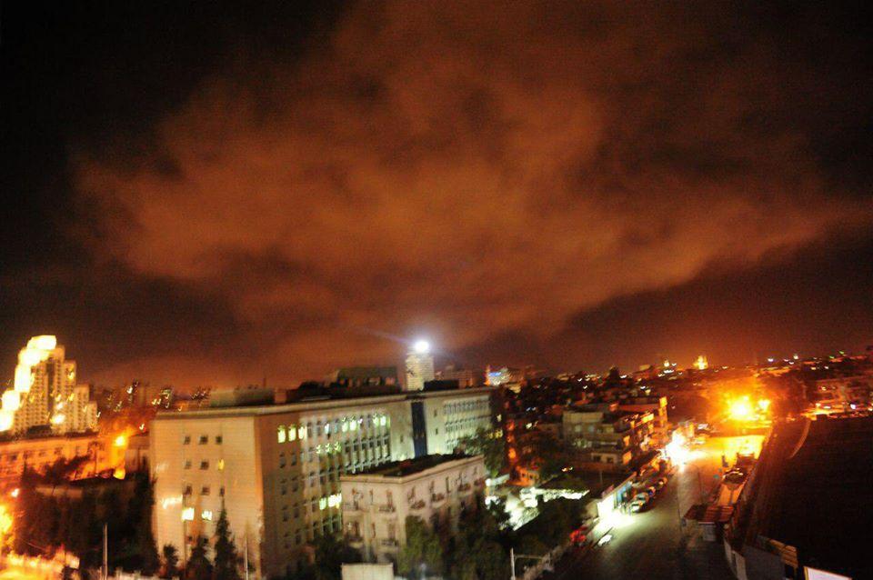 صورة هذه مواقع النظام التي استهدفتها الضربات