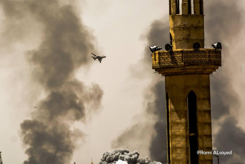 صورة جنوب دمشق..تنظيم الدولة يهاجم المعارضة