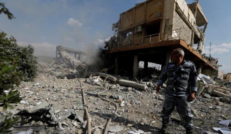 صورة ضرب الأسد..أمريكا تطمس الخط الأحمر