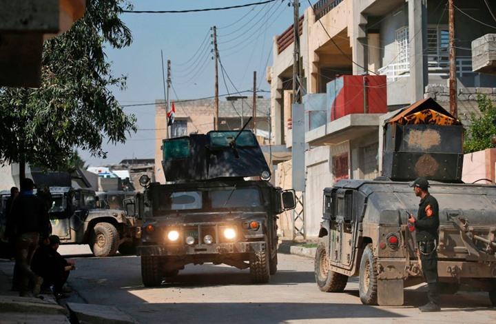صورة مصادرة بيوت مشتبه بانتمائهم لتنظيم الدولة بالعراق